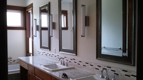 Custom Waterfront Home Project Part III - Bathroom Details